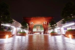 金沢駅 日本 石川県 金沢市の写真素材 [FYI03393325]