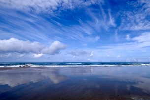 千里浜 なぎさドライブブウエイ 日本 石川県 宝達志水町の写真素材 [FYI03393328]
