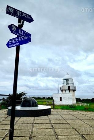 禄剛崎灯台 日本 石川県 珠洲市の写真素材 [FYI03393332]