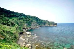 関野鼻自然公園 日本 石川県 志賀町の写真素材 [FYI03393337]
