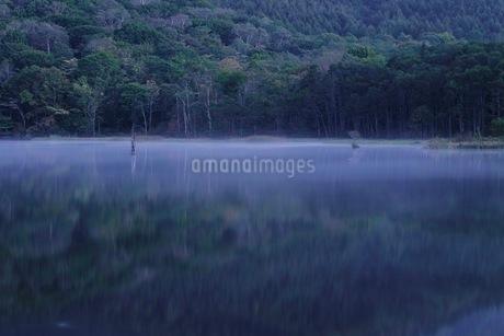 戸隠 鏡池 日本 長野県 長野市の写真素材 [FYI03393341]
