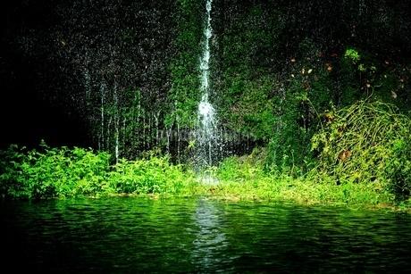 白糸の滝 日本 長野県 軽井沢町の写真素材 [FYI03393362]