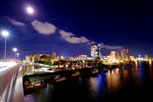 新潟市内 朱鷺メッセ周辺 日本 新潟県 新潟市の写真素材 [FYI03393375]