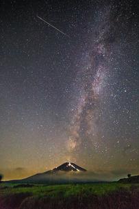 北富士演習場 日本 山梨県 山中湖村の写真素材 [FYI03393490]