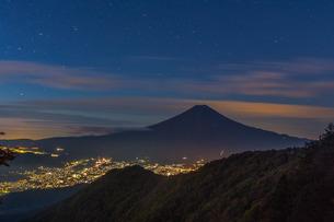 三つ峠山頂付近 日本 山梨県 西桂町の写真素材 [FYI03393505]