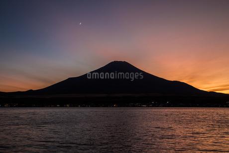 山中湖 日本 山梨県 山中湖村の写真素材 [FYI03393506]