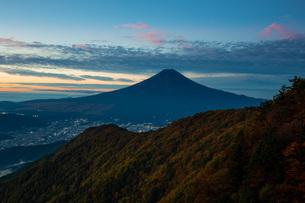 三つ峠山頂付近 日本 山梨県 西桂町の写真素材 [FYI03393508]