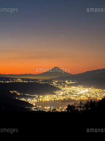 高ボッチ山 日本 長野県 岡谷市の写真素材 [FYI03393514]
