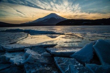 山中湖平野 日本 山梨県 山中湖村の写真素材 [FYI03393528]
