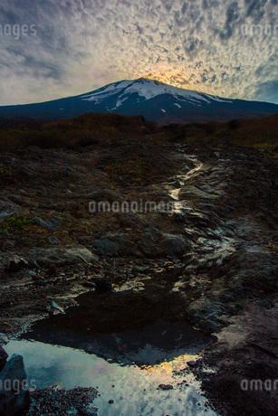 幻の滝 日本 静岡県 小山町の写真素材 [FYI03393546]