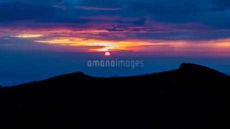 富士山頂 日本 静岡県 小山町の写真素材 [FYI03393550]