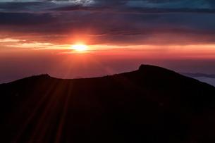 富士山頂 日本 静岡県 小山町の写真素材 [FYI03393552]