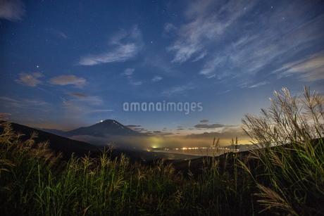 パノラマ台 日本 山梨県 山中湖村の写真素材 [FYI03393559]