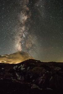 富士山頂 日本 静岡県 小山町の写真素材 [FYI03393560]