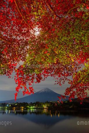河口湖 日本 山梨県 富士河口湖町の写真素材 [FYI03393572]
