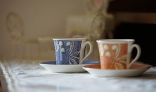 コーヒーカップの写真素材 [FYI03393600]