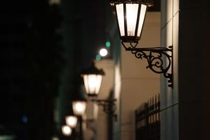 街の街灯の写真素材 [FYI03393608]