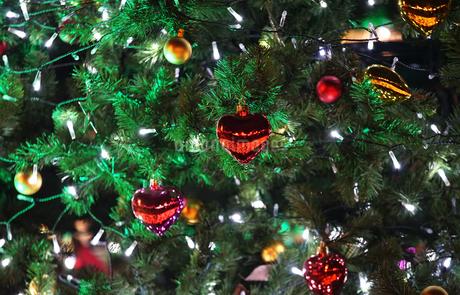 クリスマスツリーの飾りの写真素材 [FYI03393609]