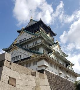 大阪城の写真素材 [FYI03394087]