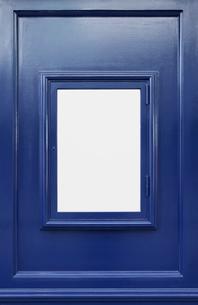 青い枠の背景の写真素材 [FYI03394312]