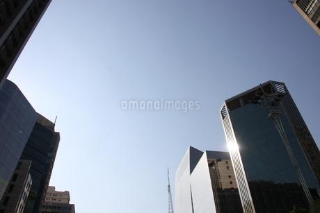 サンパウロのビジネス街の写真素材 [FYI03394608]