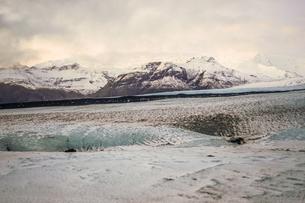 アイスランドの氷山のイメージの写真素材 [FYI03394670]