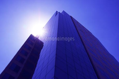 サンパウロのガラス張りのビジネスビルの写真素材 [FYI03394734]