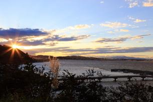 夕景の写真素材 [FYI03394736]