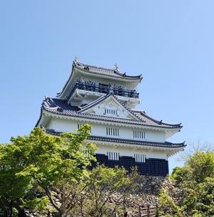 岐阜城の写真素材 [FYI03394760]