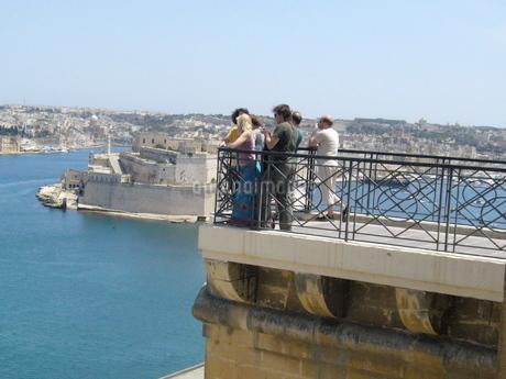 マルタ島城壁の写真素材 [FYI03394788]