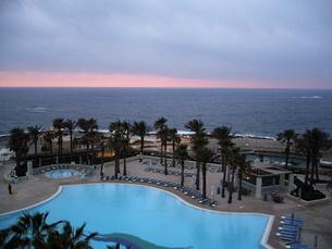 マルタ島のホテルの写真素材 [FYI03394791]