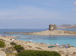 サルデーニャ島ペローサの写真素材 [FYI03394951]