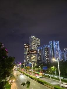 中国深圳市 テンセントビルの写真素材 [FYI03394957]
