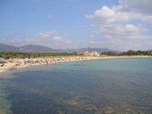 サルデーニャ島のビーチの写真素材 [FYI03394967]