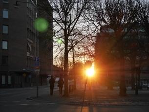 ストックホルムの朝の写真素材 [FYI03395038]