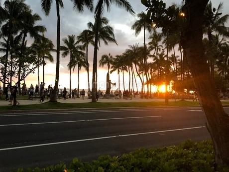 夕日の写真素材 [FYI03395102]