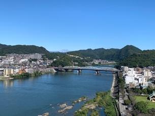 天守閣から見る景色の写真素材 [FYI03395297]