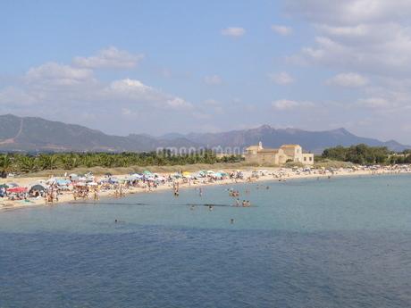 サルデーニャ島のビーチの写真素材 [FYI03395353]