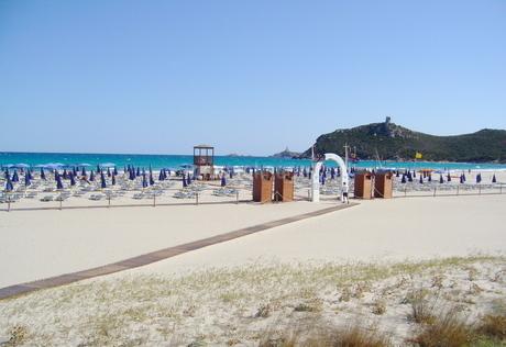 リゾートホテルのビーチの写真素材 [FYI03395356]
