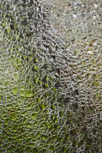 レトロデザインのすりガラスの写真素材 [FYI03395665]