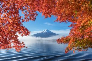 河口湖 日本 山梨県 富士河口湖町の写真素材 [FYI03395961]