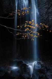 達沢不動滝 日本 福島県 猪苗代町の写真素材 [FYI03395969]