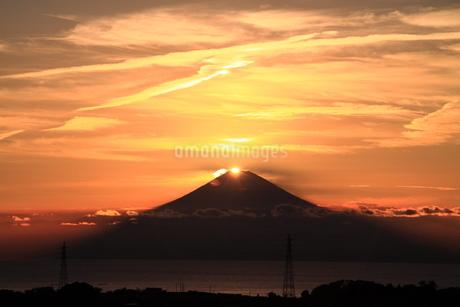 ダイヤモンド富士の写真素材 [FYI03396253]