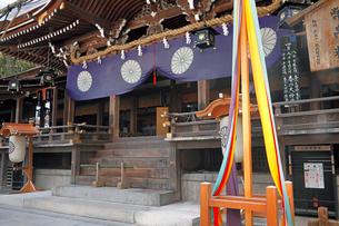 4月 三輪明神 大神(おおみわ)神社の写真素材 [FYI03396291]