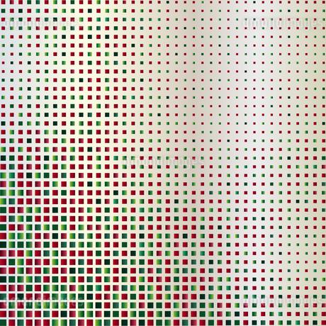緑色 赤 ラメ 背景のイラスト素材 [FYI03396553]