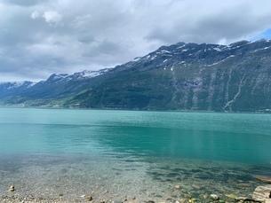 ノルウェーの海の写真素材 [FYI03396676]
