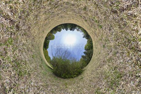 丸い世界の写真素材 [FYI03396873]
