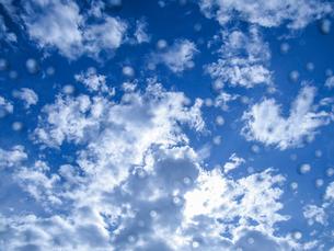 雨上がりの空の写真素材 [FYI03396881]