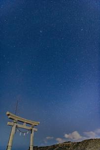 千葉、九十九里の星空の写真素材 [FYI03396933]