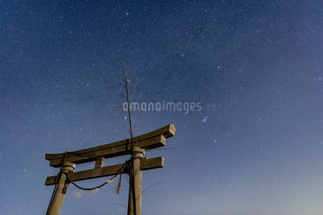 満天の星空の写真素材 [FYI03396934]
